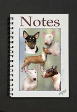 Bull Terrier Notebook / Notepad By Starprint - Auto combined postage