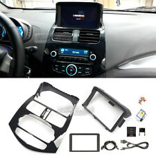 GPS Dash Fascia Integrated Audio Glossy Black for CHEVROLET 2013-2015 Spark