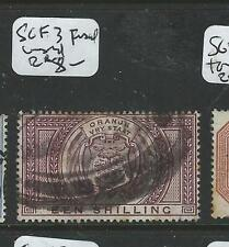 ORANGE FREE STATE (P1203B) ARMS POSTAL FISCAL SG F3 FISCAL USED