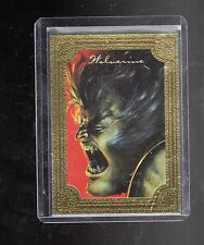 1996 Marvel  Masterpieces  #6 Golden Gallery card