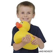 """Rubber Duck 10"""" Classic Bathroom Toy Children Kids Shower Tub Supply Floats Baby"""
