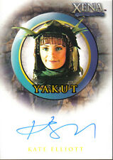 XENA BEAUTY AND BRAWN AUTOGRAPH CARD A28 YAKUT