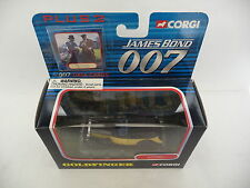 Corgi 1:43 rolls royce noir/jaune goldfinger james bond 007 TY95601