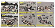 1995 Traks RACE SCAPES Complete 10 card set BV$1.25!