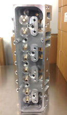 Chevy 205cc Aluminum Cylinder Heads SBC 262-400 V8 2.02 1.60 Bare Pair