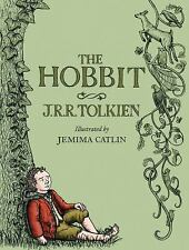 The Hobbit: Illustrated Edition by J. R. R. Tolkien (2013, Hardcover)