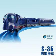 TOMY PLARAIL S-35 JR NANKAI RAPIT MOTORISED TRAIN  W/ 2 TRUCKS (2 SPEED) 677567