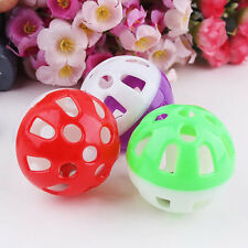 Tinkle Bell Ball Pet Toy Plastic Dog Cat Playing Ball Funny Toys Pet Products