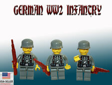 German WW2 Army 3 Minifigure set US SHIPPER Custom toy movie figure World War 2