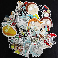 35pcs Interesting Rick And Morty Topic Car Sticker Graffiti Sticker Suitcase New