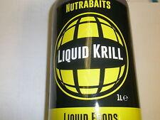 Nutrabaits Liquido Krill 1 Litro Pesca carpa esche