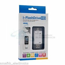 New i-Flash Drive 64GB OTG Extra Storage Memory for iOS Apple iPad Air / Air 2