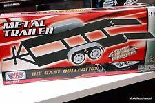 PKW TRAILER  / Auto Anhänger  - Metall   1:24 Motormax
