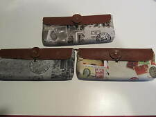 SET OF 3 Pen Pouch/Holders- Hold 7+ Pens or Supplies- INTERNATIONAL PATTERN