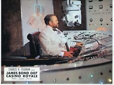 JAMES BOND 007 ORSON WELLES CASINO ROYAL 1967 VINTAGE LOBBY CARD #2