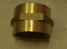 NEW DIXON FIRE HYDRANT HEX DOUBLE FEMALE BRASS ADAPTER FFH1515F