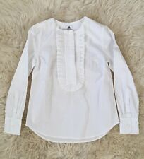 COLLECTION THOMAS MASON FOR JCREW RUFFLE-FRONT POPOVER 000 F5840 $198 SOLD-OUT!