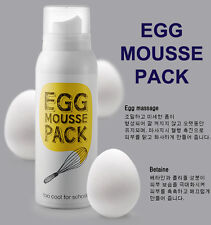 [TOO COOL FOR SCHOOL] Egg Mousse Pack Facial Mask 100ml MADE IN KOREA NEW