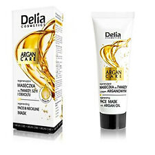 Delia Regenerating Face & Neckline Mask with Argan Care for All Skin Type 30 ml