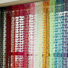 Grace Heart Line Tassel String Door Curtain Room Window Divider Curtain Valance