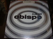 OBISPO live 98 - 2 cd - box set - SEALED - LTD 1892 -