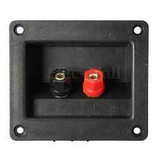 Square Binding Post Speaker Sound Box Terminal Cup Wire Connector Board Plate