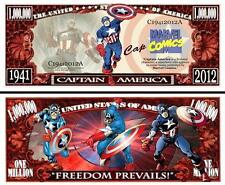 CAPTAIN  AMERICA . Million Dollar USA. Billet de commémoration / collection