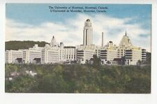 B77445 the university of montreal canada scan front/back image