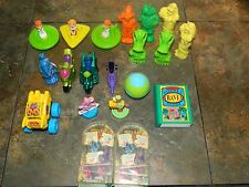 SMALL PLASTIC TOYS FROM WENDY'S LOT OF 22 FROM THE JETSON'S TO CARMEN SAN DIEGO