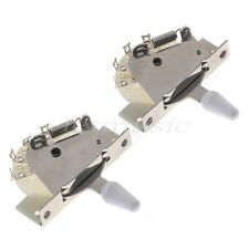 2 Pcs 5 Way Lever Switch For Tele Electric Guitar Pickup Selector Switch Parts