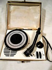 Vintage Portable Mini 45/33 Battery OP Record Player