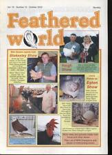 FEATHERED WORLD MAGAZINE - October 2002 Poultry Pigeons