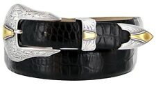 "The Colorado - Italian Calfskin Designer Dress Golf Belt 1-1/8"" Wide"