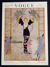 VOGUE FASHION MAGAZINE COVER POSTER DEC 1918 VICTORY PARADE HELEN DRYDEN ART!