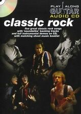 Play Along Guitar Audio CD: Classic Rock, Wise Publications, New Book