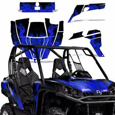 Graphic Kit Can-Am Commander w/Door Decals UTV MAX Wrap 800r 800/1000 ICE BLUE