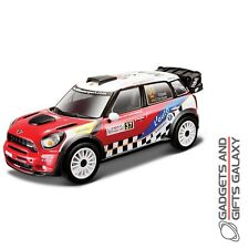 BBURAGO MINI COUNTRYMAN WRC TEAM 1:32 SCALE DIECAST MODEL CAR collectors toy