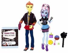 2013 Monster High Classroom Partners Home Ick Heath Burns Abbey Bominable