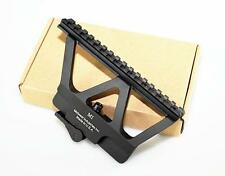 Quick Detach AK 47 74 Scope Mount Base Sight Picatinny Side Rail Mounting Black