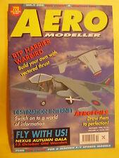AEROMODELLER OCTOBER 1996 # 729 GAZOOKUS MILLI SERIES OF FREE FLIGHT MODELS PLAN