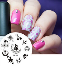 BORN PRETTY Nail Art Stamping Plate Sailor Moon Image Stamp Template  #06