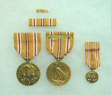 Agency, Department of Defense Asiatic-Pacific Campaign Medal , set of 4