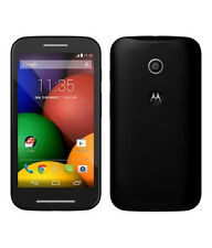 MOTO E 1st G. XT1022 4GB Black Preowned+3Months Seller Warranty Dent+Scratchs-C
