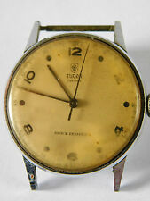 VINTAGE ROLEX TUDOR PRIMA WATCH 626703 - 806 DIAL LOOKS GOOD glass discoloured