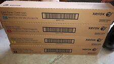 New Genuine Xerox 6R1521 6R1522 6R1523 6R1524 Color 550 560 C60 Toner Set sealed