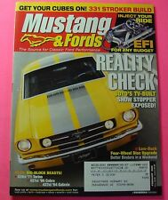 MUSTANG & FORDS MAGAZINE FEB/2006...331 STROKER BUILD...INJECT YOUR RIDE: EFI
