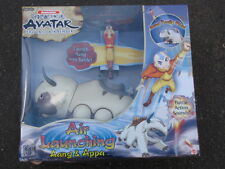 AVATAR Last Airbender APPA Air Launching FLYING Bison Figure AANG Mattel SEALED