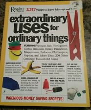 Extraordinary Uses for Ordinary Things 2,317 Ways to Save Money and Time Fun
