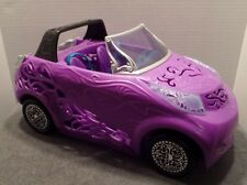 Mattel 2012 Monster High Scaris City Of Frights Convertible Car EUC Purple