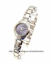 Omax Ladies Blue Dial Watch, Silver Finish, Seiko (Japan) Movt. RRP £49.99
